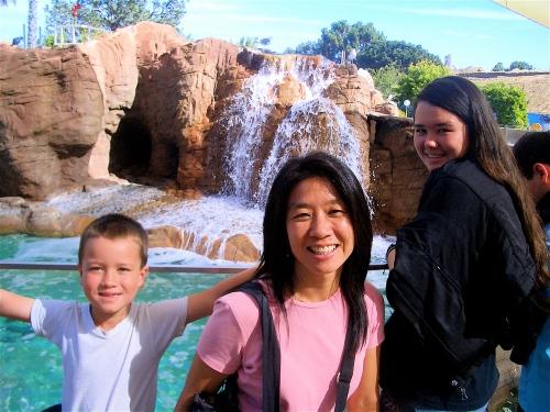 my family, 3 years ago