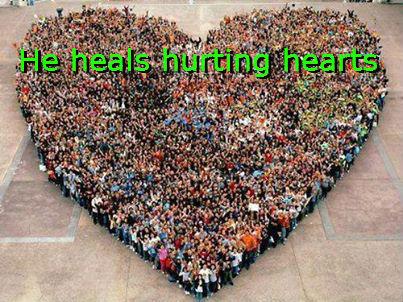 jesus heals hearting hearts