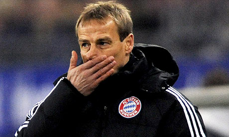 Coach Jurgen Klinsmann hasn't lowered himself to the level of defending himself against a bitter player.
